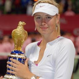 Тенис звездата Мария Шарапова снимка