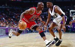 Баскетболната звезда Майкъл Джордан снимка