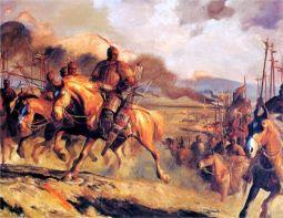 Китайски герой Хан династия Уей Цин