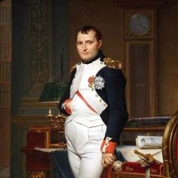 Френски бог на войната Наполеон Бонапарт снимка