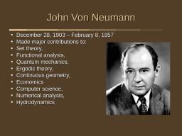 Джон фон Нойман (Картина 3)