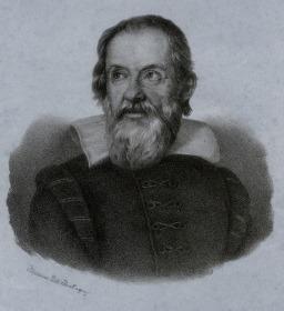 Италиански физик Галилей (Картина 6)