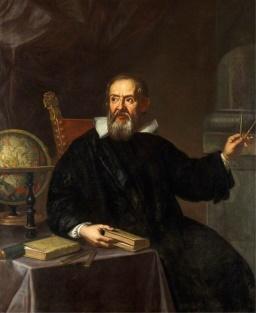 Италиански физик Галилей (Картина 1)
