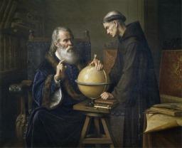 Италиански физик Галилей (Картина 7)