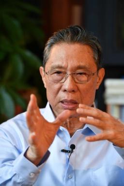 Академик Жонг Наншан (Тапет за работен плот 4)