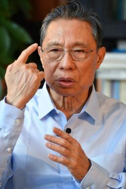 Академик Жонг Наншан (Тапет за работен плот 5)