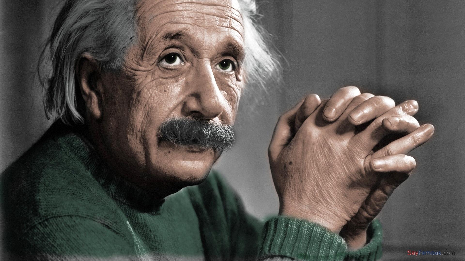 Физикът Алберт Айнщайн (HD десктоп 1)